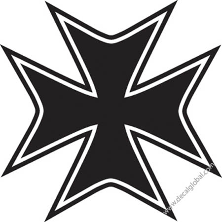 Cross Vinyl Graphic Decal 70