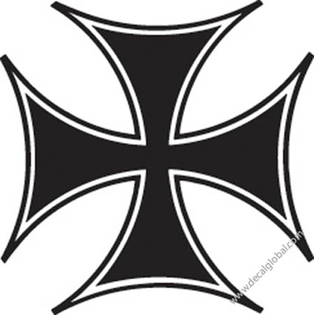 Cross Vinyl Graphic Decal 73
