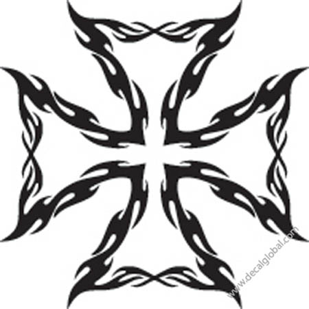 Cross Vinyl Graphic Decal 76