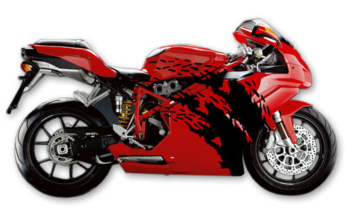 Street Bike Decal 13