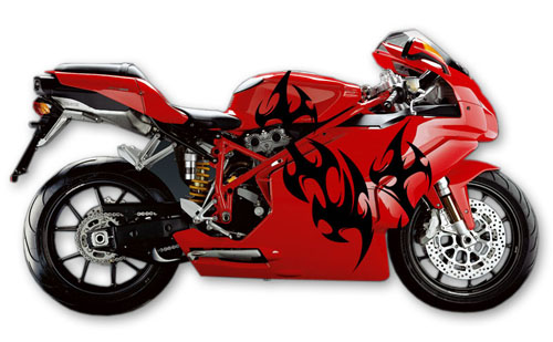 Street Bike Decal 17