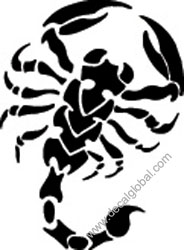 Scorpion Decal (22)