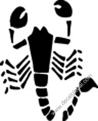 Scorpion Decal (36)