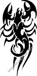 Scorpion Decal (4)