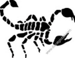 Scorpion Decal (8)