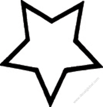 Star Decal 16