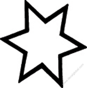 Star Decal 21