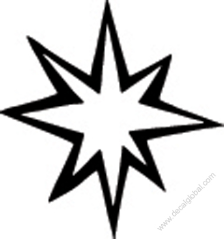 Star Decal 52