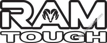 Ram Tough Decal (206)