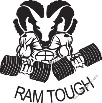 Ram Tough Decal (207)