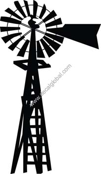 Windmill Decal11
