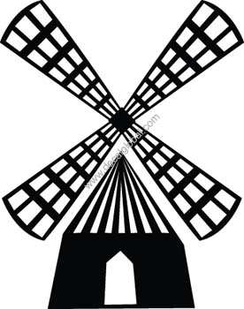 Windmill Decal12