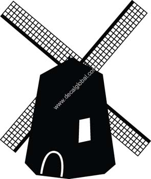 Windmill Decal14
