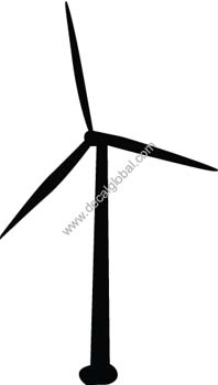 Windmill Decal22