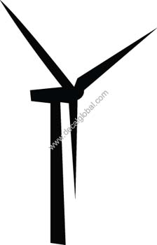 Windmill Decal24