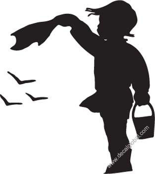Childrens Silhouette Decal 17