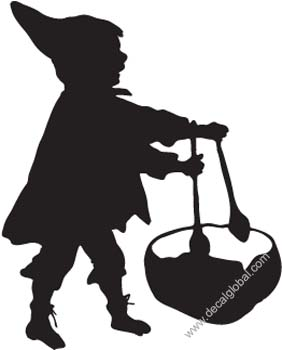 Childrens Silhouette Decal 18