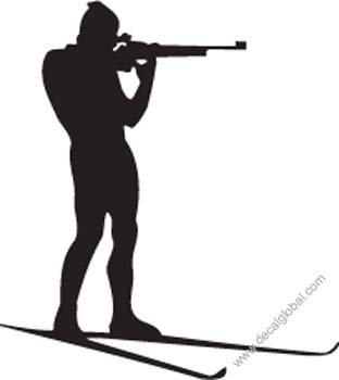 Fighting Silhouette Decal 84