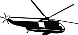 Helicopter Decal 16