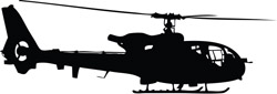 Helicopter Decal 18