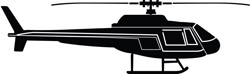 Helicopter Decal 3