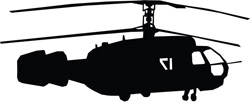 Helicopter Decal 9