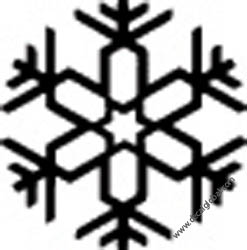 Snow Flake Decals